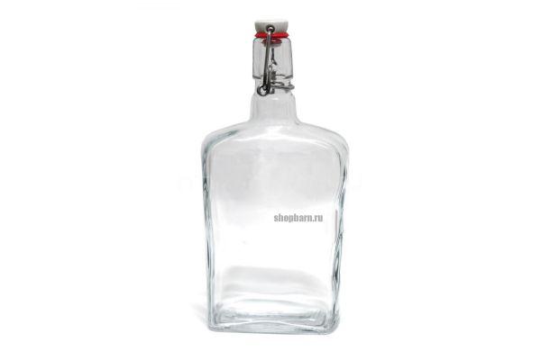 "Бутылка стеклянная ""Малек"" 750 мл."