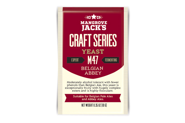 Дрожжи пивные Mangrove Jack's Belgian Abbey M47