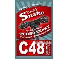 Дрожжи спиртовые турбо Double Snake C48
