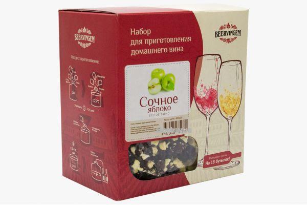 """Набор для приготовления вина Beervingem """"Сочное яблоко"""""""