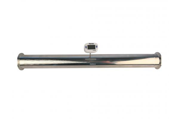 "Царга 1,5"" 500 мм с гильзой под цифровой термометр"