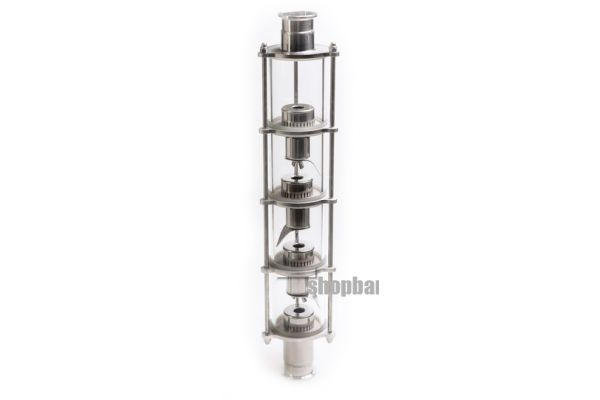 Колпачковая колонна для дистилляции с 10 уровнями очистки